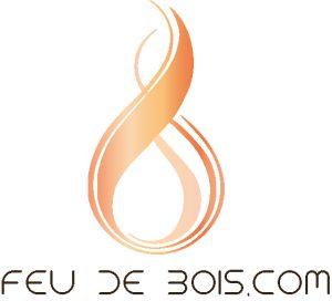 logo feudebois.com poêles et cuisinières de masse artisanal sur mesure